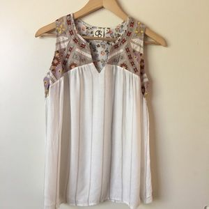 One September- Anthropologie Sleeveless Top XS